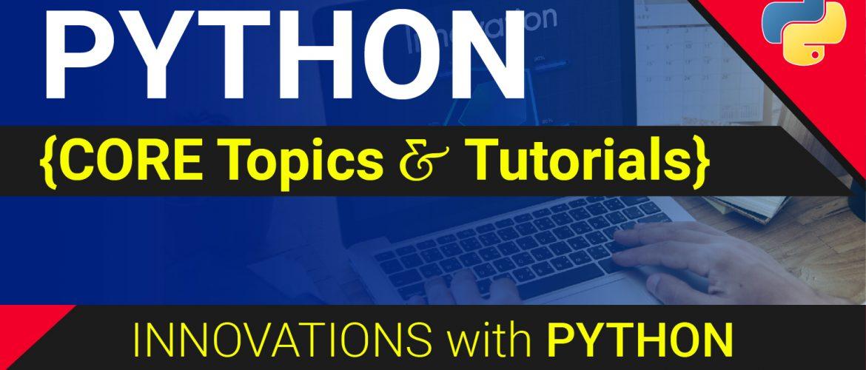 Python Tutorials